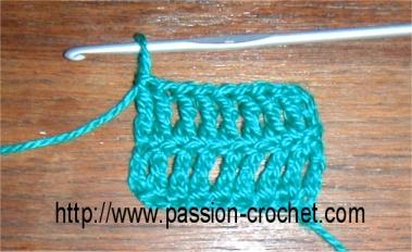 double bride crochet