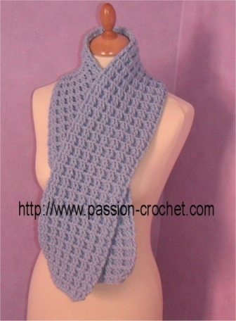 2de99b27ce3a Echarpes au crochet