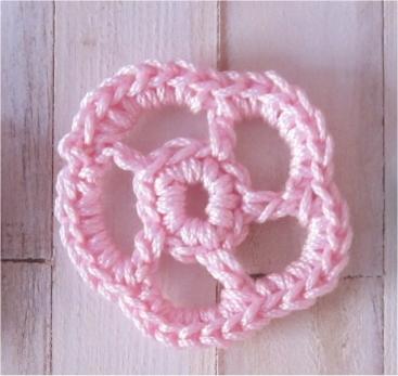 Modeles De Fleurs Au Crochet A Coudre
