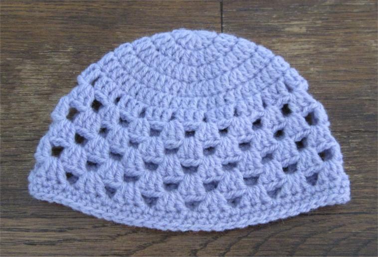 modele bonnet bebe crochet facile