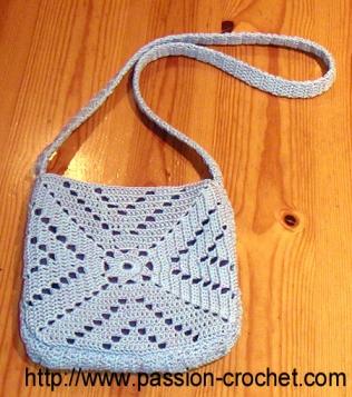 Modele De Sac Au Crochet